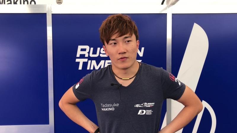 Тадасуке Макино - первая гонка на Ред Булл Ринге