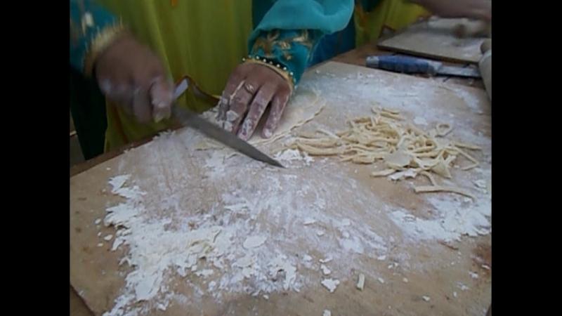 инструкция по изготовлению Татарской Лапши
