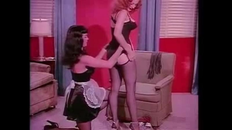 Бетти Пейдж и Темпест Сторм, Teaserama 1955г (Bettie Page) (18, бдсм, госпожа, bdsm, fetish, бондаж, фетиш, рабыня, фемдом)