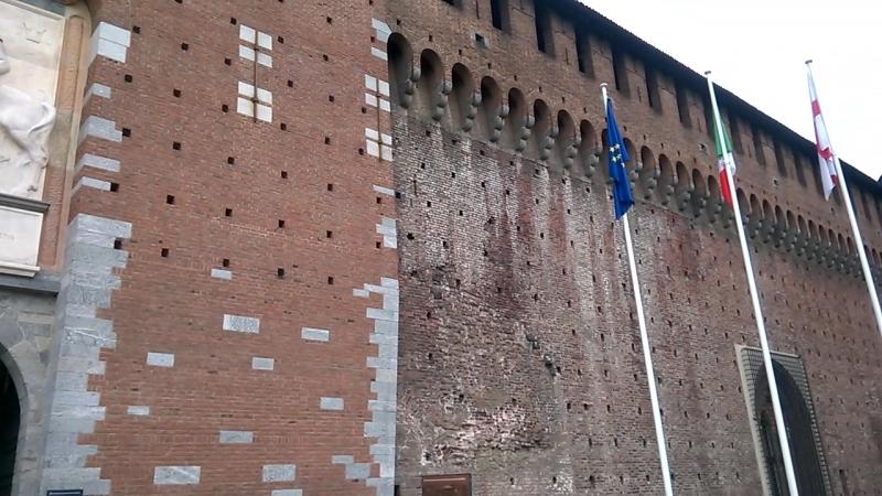 Кастелло Сфорца, башня Филарете, Милан