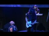 DGM - .2014.Солист преклоняется перед соло-гитаристом.