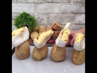 Импровизация на тему Раклета. 4 блюда в один заход