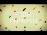 K.Flay - High Enough (Lyric Video)