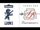 Week 14 / 10.12.2017 / Detroit Lions @ Tampa Bay Buccaneers