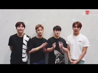 FTISLANDs congratulatory message for solo artist Lee Changgeng of Hongyi Entertainment, an entertainment company which is a prod