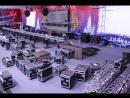 Таймлапс - подготовка зала и установка сцены
