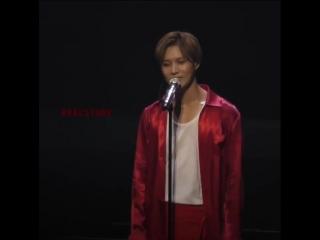 FANCAM 1 181010 talking  - Taemin JAPAN 1st TOUR SIRIUS, Yokohama
