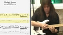 Michael Romeo String skipping Tapping lick Best lick animated tab Fast slow