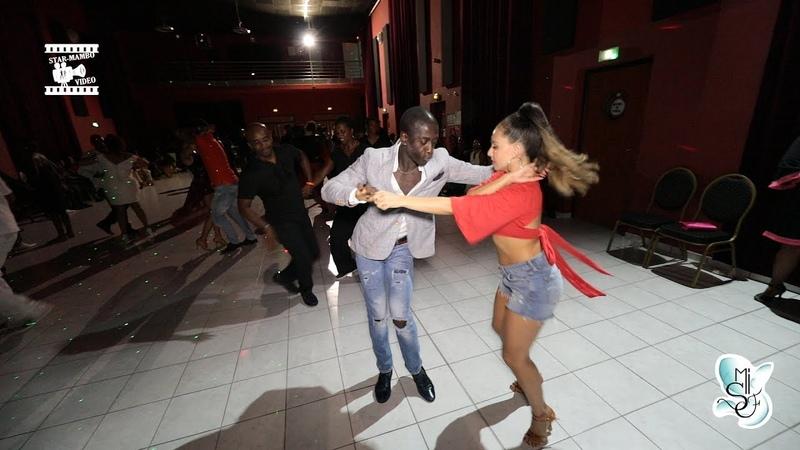 Mouaze Konaté Karel Flores salsa social dancing @ Martinique Int 'Salsa Festival 2018