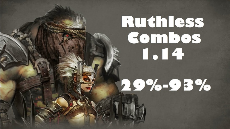 MKX - Ferra/Torr (Ruthless) Combos 29%-93% Patch 1.14