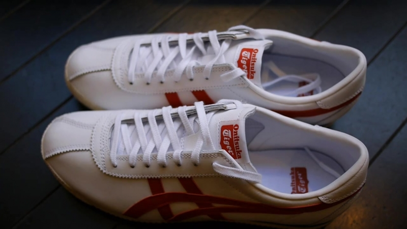 Onitsuka Tiger - Corsair Quick Look On Feet (White True Red)