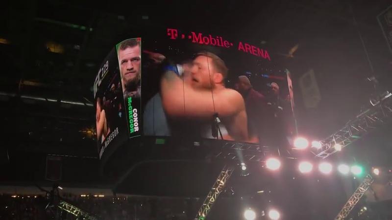 ПОЛНЫЙ Выход Конора, и Хабиба в Октагон UFC 229 МакГрегор VS Хабиб