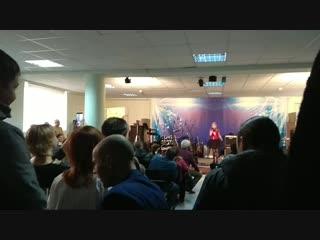 Разминка перед выступлением)