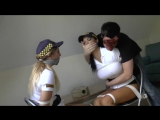 two female are bound and gagged