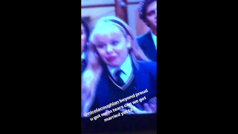 Instagram Stories video by Ella Purnell