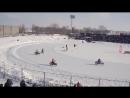 Репортажная видеосъемка финал чемпионата Европы по мотогонкам на льду