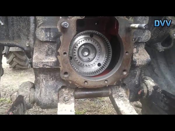 Power selection repair MTZ shaft 1025