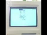 This is America on Macintosh SE