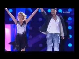 Дмитрий Марьянов и Ирина Лобачёва  «Dalida - Je suis malade» (Ледниковый период. Гала-концерт, 2008 г.)