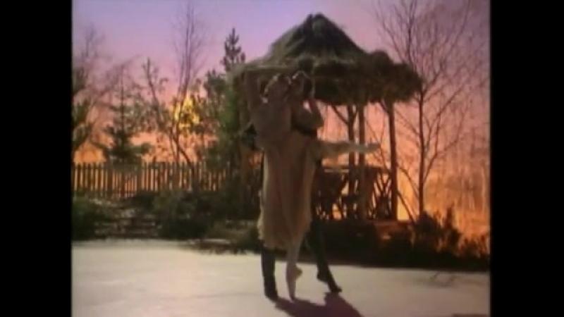 Фрагмент из спектакля «Зимние грезы». Дарси Басселл и Ирек Мухамедов