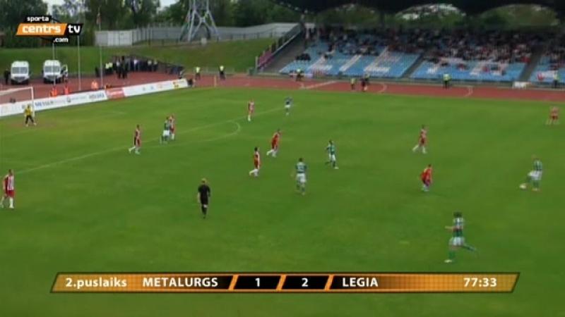 Liepājas Metalurgs Legia Warszawa