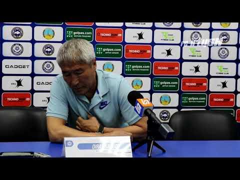 Послематчевая пресс-конференция, Иртыш-Тракай (0:1), Ойрат Садуов