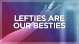 Lefties are our besties! | International Lefthanders Day | Women's EHF EURO 2018