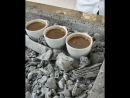 Турецкий кофе на углях