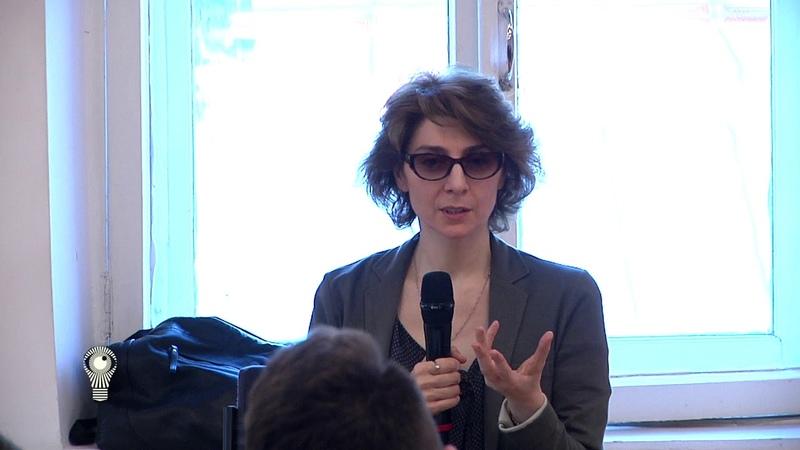Лекция Кети Чухров