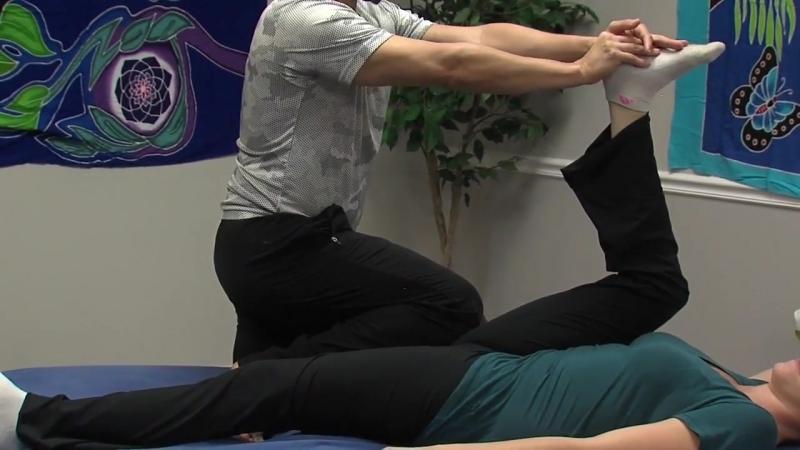 Стретчинг-массаж - спортивный стиль