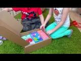 [KiKiDo] Камиль и Аминка САМИ РАСПАКОВАЛИ все СЮРПРИЗ БОКС! Для детей kids children