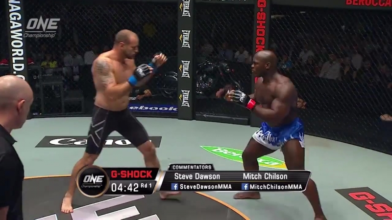 Alain Ngalani defeats Igor Subora via KO/TKO at 1:09 of Round 1