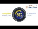 Goodyear рекомендован в 80% тестов на 4точки Шины и диски 4точки Wheels Tyres