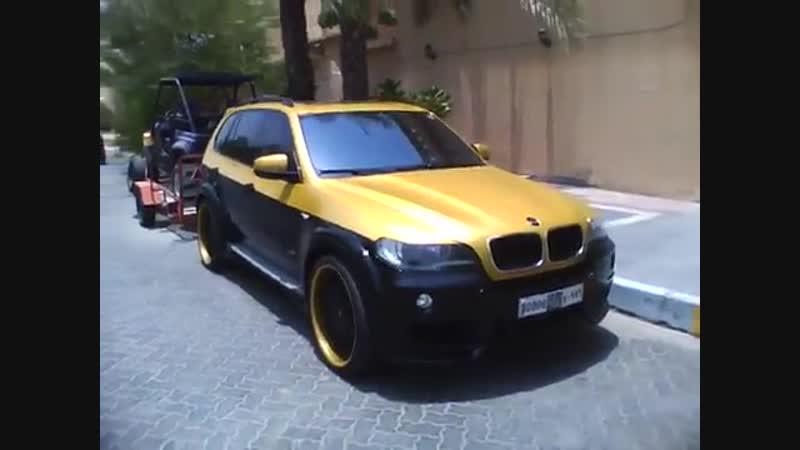BMW X5 Hamann gold_black - Ipod Nano 5G Video
