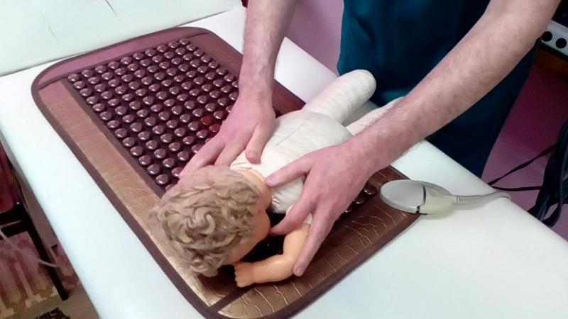 Детский массаж. Комплекс 2 3-4 месяца