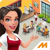 Установить  Моя кофейня: рецепты и истории - ресторан мечты [Мод: бесплатные покупки]