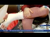Родители школьницы, сломавшей на уроке ногу, готовят иск в суд