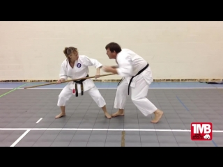 One Minute Bunkai_ Bo Jutsu #2