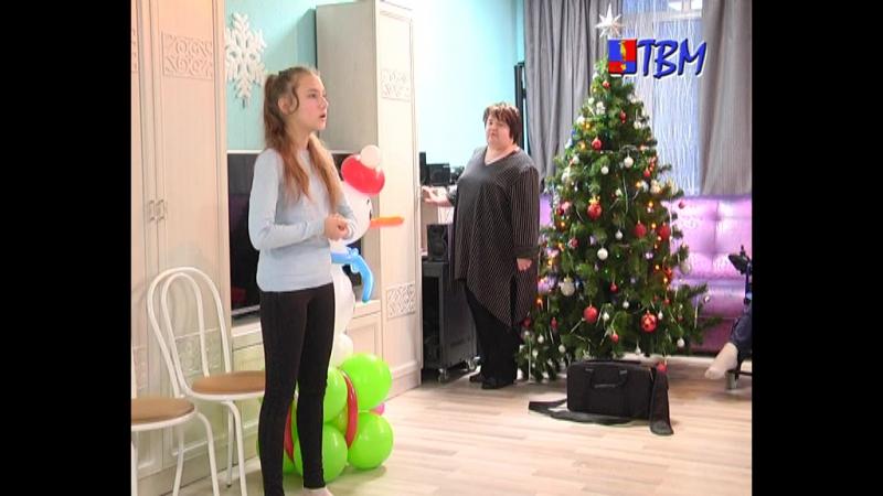 В Новый год никто не останется без внимания и заботы Подопечные Дома Милосердия принимали поздравления от учеников пятой школы
