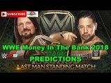 WWE Money In The Bank 2018 WWE Championship AJ Styles vs Shinsuke Nakamura Last Man Standing Match