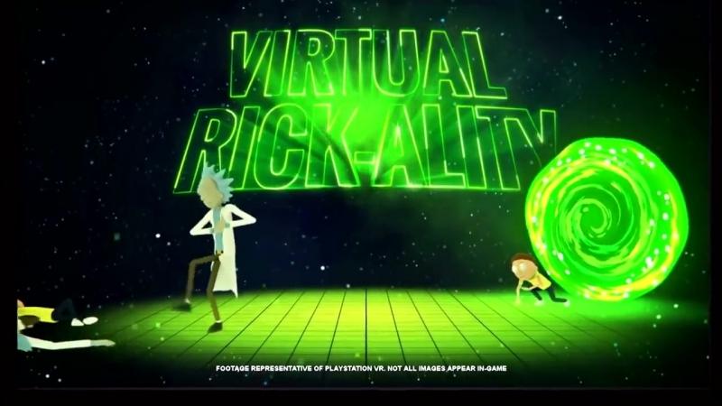 Rick and Morty Virtual Rickality PSVR Trailer
