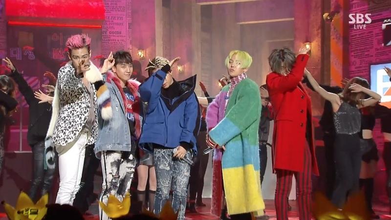 BIGBANG '에라 모르겠다 FXXK IT ' 1218 SBS Inkigayo