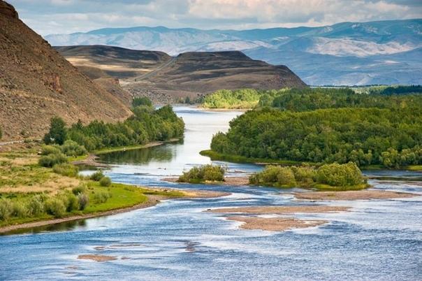 Енисей – одна из величайших рек всего мира.
