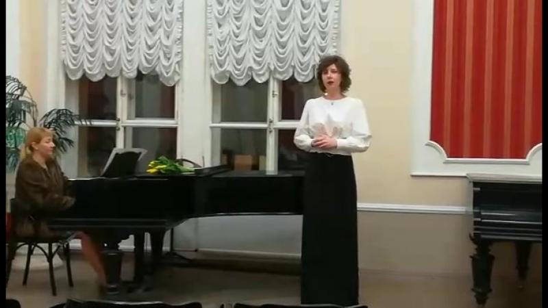 Моё исполнение песни Ольги из оперы Русалка. А. Даргомыжский