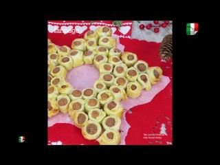 Stella di Natale con i würstel_Рождественская звезда с сосисками