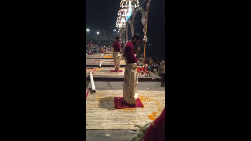 Varanasi. GangaArati. 02.2018.