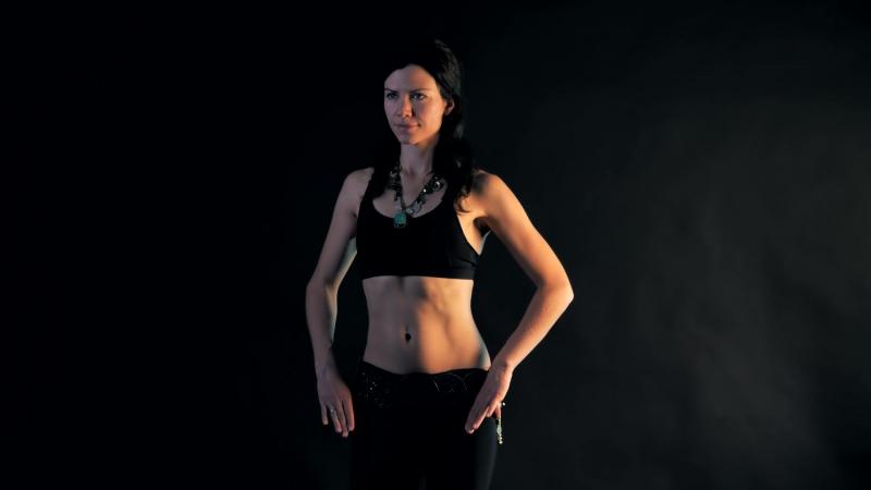 Анна Акинцева Движения грудью Tribal Fusion