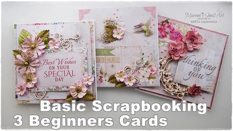 3 Basic Handmade Cards ♡ Maremi's Small Art ♡