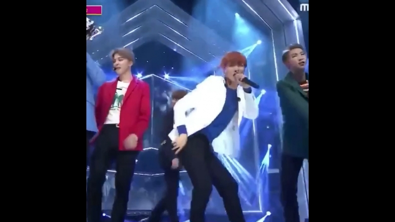 Hoseok's jaw-dropping slut drop