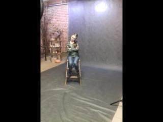"""Мастер класс по фотопозированию для детей в фотостудии """" На Гладкова 10"""". Роман Борисов"""